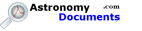 Astronomy Documents Search Engine